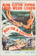 "Movie Posters:Adventure, Boy on a Dolphin (20th Century Fox, 1957). One Sheet (27"" X 41"").Adventure.. ..."