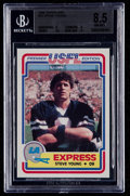 Football Cards:Singles (1970-Now), 1984 Topps USFL Steve Young #52 BGS NM-MT+ 8.5....