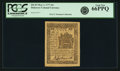 Colonial Notes:Delaware, Colony of Delaware May 1, 1777 6 Pence Fr. DE-83. PCGS Gem New 66PPQ.. ...