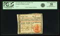 "Colonial Notes:Georgia, Georgia June 8, 1777 $3 Red ""In"" Fr. GA-105a. PCGS Choice About New58 Apparent.. ..."