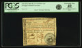 "Colonial Notes:Georgia, Georgia June 8, 1777 $5 Red ""In"" Fr. GA-107a. PCGS Extremely Fine 40 Apparent.. ..."