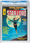 Magazines:Science-Fiction, Marvel Preview #4 Star-Lord (Marvel, 1976) CGC NM 9.4 Whitepages....