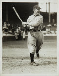 Baseball Collectibles:Photos, 1920's Wahoo Sam Crawford Original Photograph by Paul Thompson,PSA/DNA Type 1. ...