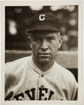 Baseball Collectibles:Photos, 1920's Tris Speaker Original Photograph By Paul Thompson, PSA/DNAType 1....