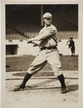 Baseball Collectibles:Photos, Circa 1914 Frank Chance Original Photograph By Paul Thompson,PSA/DNA Type 1....