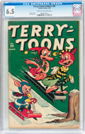 Golden Age (1938-1955):Funny Animal, Terry-Toons Comics #30 (Timely, 1945) CGC FN+ 6.5 Cream tooff-white pages....