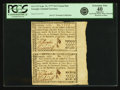 Colonial Notes:Georgia, Georgia September 10, 1777 $1/2 Uncut Pair Fr. GA-112. PCGSExtremely Fine 40 Apparent.. ...