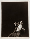 Miscellaneous Collectibles:General, 1931 Bela Lugosi as Dracula Original Photograph, PSA/DNA Type 1....