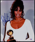 Miscellaneous Collectibles:General, Whitney Houston Signed Photograph....