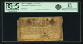 Colonial Notes:Maryland, Maryland July 26, 1775 $2 2/3 Allegorical Series Fr. MD-75. PCGS Fine 12 Apparent.. ...