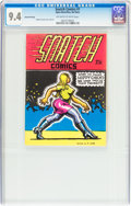 Silver Age (1956-1969):Alternative/Underground, Snatch Comics #1 Second Printing (Apex Novelties, 1968) CGC NM 9.4Off-white to white pages....