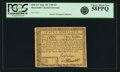 Colonial Notes:Maryland, State of Maryland June 28, 1780 $3 Fr. MD-117. PCGS Choice AboutNew 58PPQ.. ...