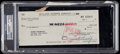 Miscellaneous Collectibles:General, 1967 Rodney Dangerfield Signed Check....