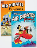 Bronze Age (1970-1979):Alternative/Underground, Air Pirates Funnies #1 and 2 Group (Hell Comics Group, 1971).... (Total: 2 Comic Books)