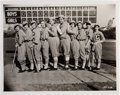 Baseball Collectibles:Photos, 1930's Babe Ruth with Baseball Ladies Original Photograph, PSA/DNAType 1. ...