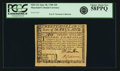Colonial Notes:Maryland, State of Maryland June 28, 1780 $20 Fr. MD-122. PCGS Choice AboutNew 58PPQ.. ...