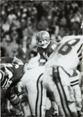 Football Collectibles:Photos, 1970 Len Dawson in Super Bowl IV Original Oversized News Photograph by Ken Regan, PSA/DNA Type 1....