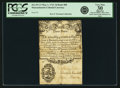 Colonial Notes:Massachusetts, Massachusetts Bay May 1, 1741 3 Pence Bank Bill Fr. MA-87.13. PCGSVery Fine 30 Apparent.. ...