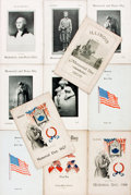 Books:Americana & American History, [Memorial Day]. Group of Eleven Memorial Day Programs fromIllinois. [Springfield, IL:] Issued by Francis G. Blair, 1905...(Total: 11 Items)