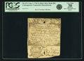 Colonial Notes:Massachusetts, Massachusetts Isaac Winslow Merchant or Order, Boston Silver BankAugust 1, 1740 5 Shillings (5 dwt.) Contemporary Counterfeit...