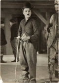 """Miscellaneous Collectibles:General, 1925 Charlie Chaplin in """"The Gold Rush"""" Original Photograph,PSA/DNA Type 1...."""