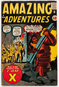 Silver Age (1956-1969):Horror, Amazing Adventures #4 (Marvel, 1961) Condition: VG/FN....