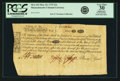 Colonial Notes:Massachusetts, Massachusetts Bay May 25, 1775 12 Shillings Fr. MA-143. PCGS Very Fine 30 Apparent.. ...