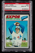 Baseball Cards:Singles (1970-Now), 1977 Topps Woodie Fryman #28 PSA Gem Mint 10....