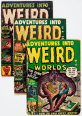Golden Age (1938-1955):Horror, Adventures Into Weird Worlds Group of 10 (Atlas, 1952-54)Condition: Average FR.... (Total: 10 Comic Books)