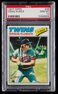 Baseball Cards:Singles (1970-Now), 1977 Topps Craig Kusick #38 PSA Gem Mint 10 - Pop Two....