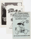 Magazines:Fanzine, Comic-Related Fanzines, Catalogues, and Newspapers Group (various, c. 1960-70s).... (Total: 45 Items)