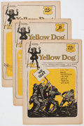 Silver Age (1956-1969):Alternative/Underground, Yellow Dog #1-9/10 Plus Tabloid Group (Print Mint, 1968-72)Condition: Average FN.... (Total: 10 Comic Books)