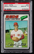 Baseball Cards:Singles (1970-Now), 1977 Topps Rawly Eastwick #45 PSA Gem Mint 10....