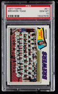 Baseball Cards:Singles (1970-Now), 1977 Topps Brewers Team #51 PSA Gem Mint 10....