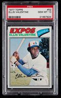 Baseball Cards:Singles (1970-Now), 1977 Topps Ellis Valentine #52 PSA Gem Mint 10....