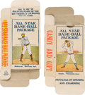 "Baseball Cards:Sets, 1910 Dockman & Son ""All Star Base-Ball Package"" Complete Boxwith Mathewson and Coombs! ..."