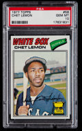 Baseball Cards:Singles (1970-Now), 1977 Topps Chet Lemon #58 PSA Gem Mint 10 - Pop Four....