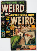 Golden Age (1938-1955):Horror, Adventures Into Weird Worlds #11 and 15 Group (Atlas, 1952)Condition: Average VG-.... (Total: 2 Comic Books)