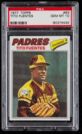 Baseball Cards:Singles (1970-Now), 1977 Topps Tito Fuentes #63 PSA Gem Mint 10....