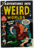 Golden Age (1938-1955):Horror, Adventures Into Weird Worlds #24 (Atlas, 1953) Condition: VG+....