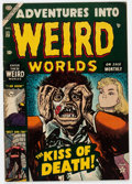 Golden Age (1938-1955):Horror, Adventures Into Weird Worlds #23 (Atlas, 1953) Condition: VG+....