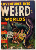 Golden Age (1938-1955):Horror, Adventures Into Weird Worlds #1 (Atlas, 1952) Condition: GD-....