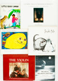 Books:Children's Books, [Children's Books]. Group of Six. Various publishers and dates....(Total: 6 Items)