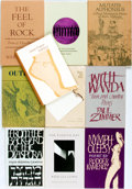 Books:Fiction, [Poetry]. Group of Ten Books. Various publishers and dates. ...(Total: 10 Items)