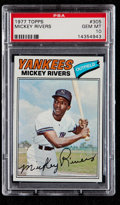 Baseball Cards:Singles (1970-Now), 1977 Topps Mickey Rivers #305 PSA Gem Mint 10....