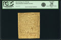 Colonial Notes:Massachusetts, Massachusetts September 17, 1776 10 Shillings Fr. MA-214. PCGS Very Fine 30 Apparent.. ...
