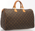 "Luxury Accessories:Bags, Louis Vuitton Classic Monogram Canvas Speedy 40 Bag . GoodCondition. 15.5"" Width x 10"" Height x 7.5"" Depth, 4""Handle..."