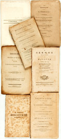 Books:Americana & American History, [Americana/Religion]. Group of Seven Pamphlets and Books. Variouspublishers and dates, circa 1800. ... (Total: 7 Items)