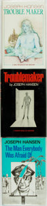 Books:Mystery & Detective Fiction, Joseph Hansen. Trio of First Editions. Includes: The First Editionand First UK Edition of Troublemaker. [with:] The M...(Total: 3 Items)