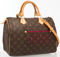 Luxury Accessories:Accessories, Louis Vuitton Limited Edition Classic Monogram Canvas PerforatedSpeedy 30 Bandouliere Bag. Very Good to Excellent Conditi...